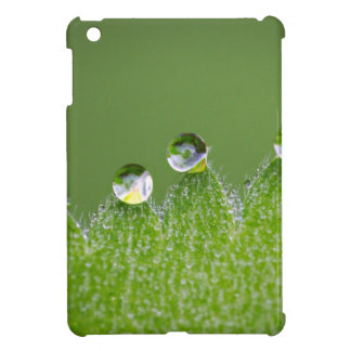 Nature Water Drops Connect with Cosmic Case For The iPad Mini