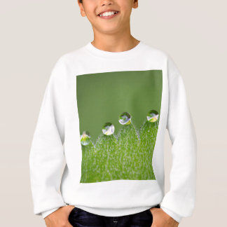 Nature Water Drops Connect with Cosmic Sweatshirt