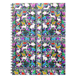 Nature Wild Animals Birds Fish Insects NVN709 GIFT Note Book