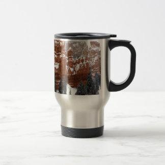 Nature Winter Cold Canyon Coffee Mugs