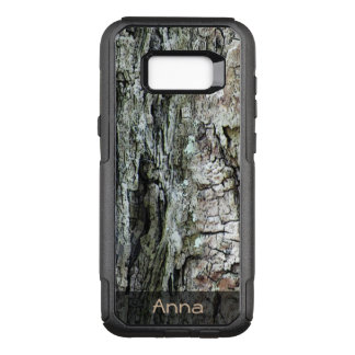 Nature Wood Old Pine Bark Photo any Text OtterBox Commuter Samsung Galaxy S8+ Case