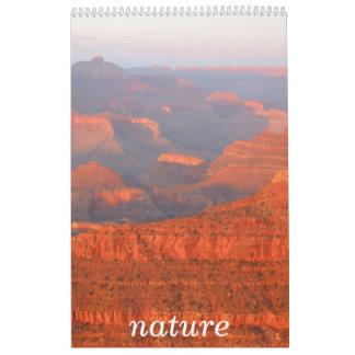 nature world wall calendar