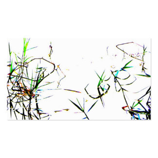 Nature's Abstract l Pond Weeds Business Card Business Cards