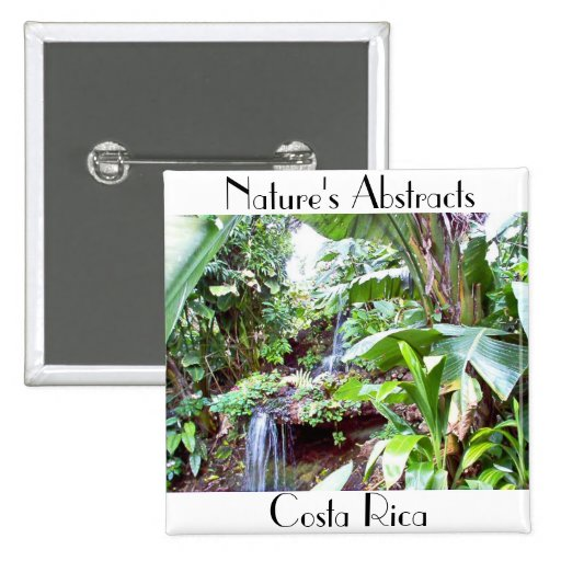 Nature's Abstracts Pinback Buttons