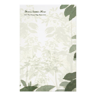 Natures Beauty Linen Stationery