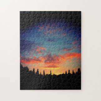 Natures Best - End Of The Day Sunset Jigsaw Puzzle
