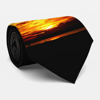 Natures Best - Prairie Lake Sunset Tie