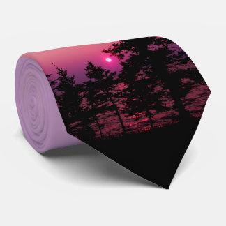Natures Best - Waskesiu Sunset Tie