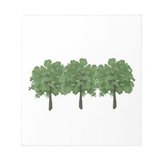 Natures Brush Notepad