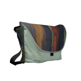 Nature's Colors Rickshaw Messenger Bag
