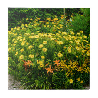 Natures Garden Small Square Tile