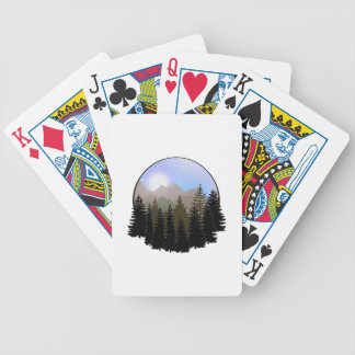 Nature's Globe Bicycle Playing Cards