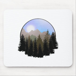 Nature's Globe Mouse Pad
