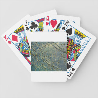 Nature's Lace Bicycle Playing Cards