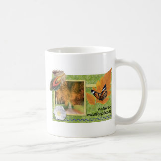 Natures masterpieces basic white mug