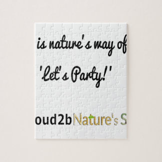 Nature's Soldiers Slogan 1 Jigsaw Puzzle