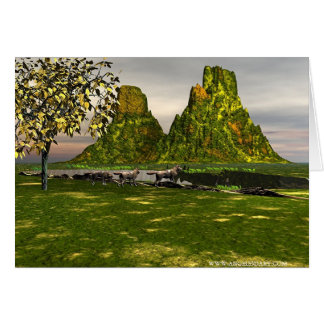 Natures Spectacle Greeting Card