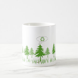 nature's thoughts coffee mug