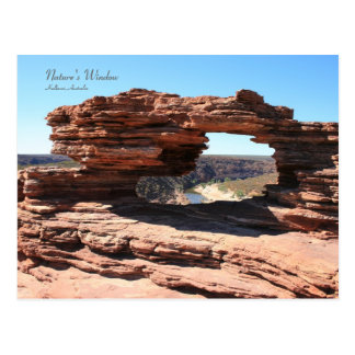 Nature's Window, Kalbarri - Postcard