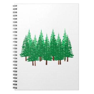 Nature's Wonderland Notebook