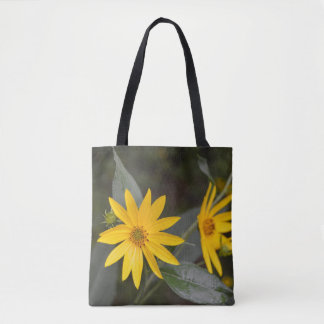 Nature's Yellow Wildflowers Tote Bag