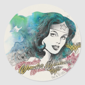 Naturess Design 7 Round Sticker