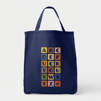 Naughty Alphabets bag – choose style color