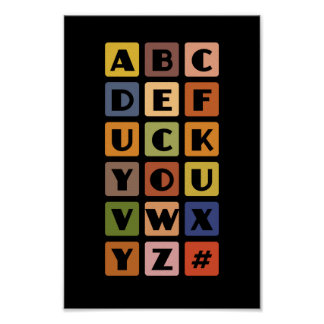 Naughty Alphabets poster