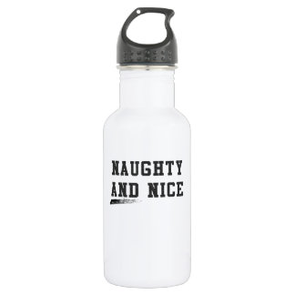 Naughty and Nice 532 Ml Water Bottle