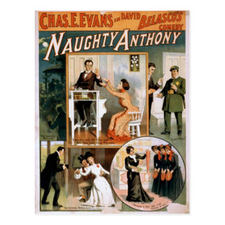 Naughty Anthony, 'The camera never Lies' Vintage T Postcard