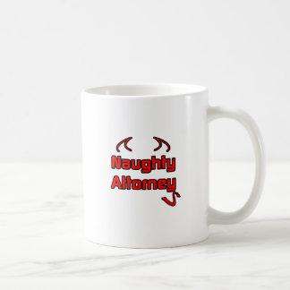 Naughty Attorney Coffee Mug
