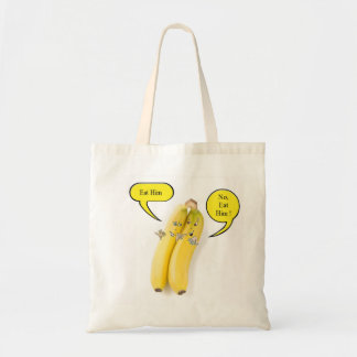 Naughty Banana Budget Tote Bag
