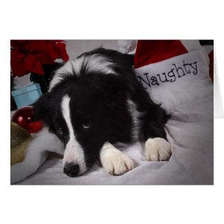 Naughty BC Merry Christmas Card