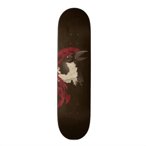 Naughty Bird Skate Board Deck