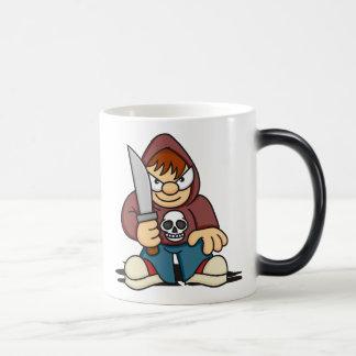 Naughty Boy with Knife Mug