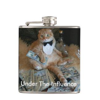 Naughty Cat Hip Flask
