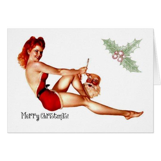 Naughty Christmas Card