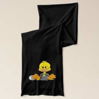 Naughty duck scarf