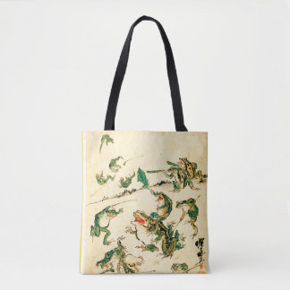 Naughty Frogs Tote Bag