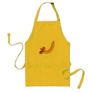 Naughty Fruity Banana Standard Apron
