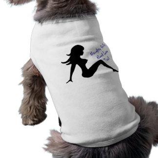 Naughty Girls Need Love Too! Sleeveless Dog Shirt