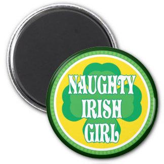 Naughty Irish Girl Refrigerator Magnet