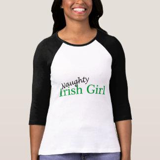 Naughty Irish Girl T-Shirt