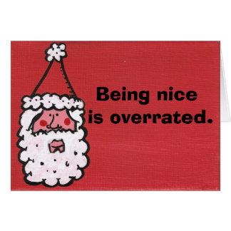 Naughty is the new nice card