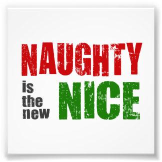 Naughty is the New Nice Photo Print