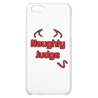 Naughty Judge iPhone 5C Case