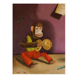 naughty kid detail(Monkey) Postcard