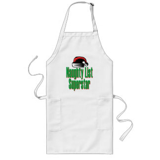 Naughty List Superstar Long Apron