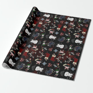 NAUGHTY LIST WRAPPING PAPER