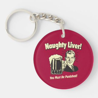 Naughty Liver: You Must Be Punished Key Ring